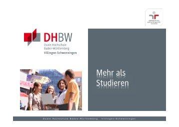 Prozentsatz - DHBW Villingen-Schwenningen