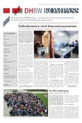 Fallenbrunnen wird Innovationszentrum - DHBW Ravensburg