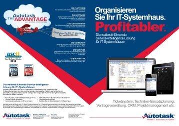 Organisieren Sie Ihr IT-Systemhaus. - NESTEC