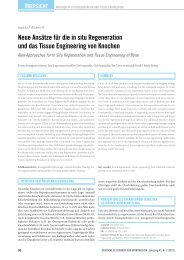 New Approaches for In Situ Regeneration and Tissue ... - DGSP
