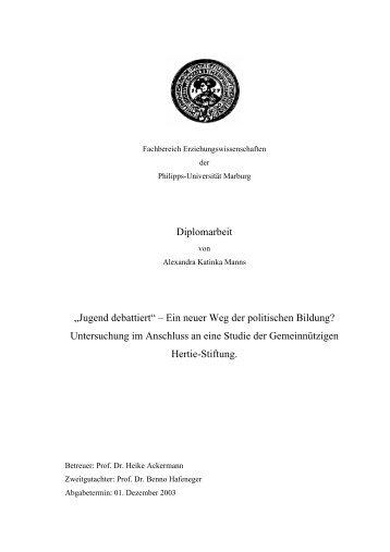 Jugend debattiert - Deutsche Gesellschaft für Sprechwissenschaft ...