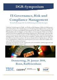 Jan Theilmann, IBM, Associate Partner, Business Risk ... - DGRV