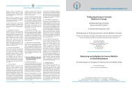 Professional Issues in Internal Medicine in Europe - Deutsche ...