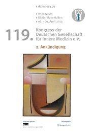 119. - Deutsche Gesellschaft für Innere Medizin (DGIM)