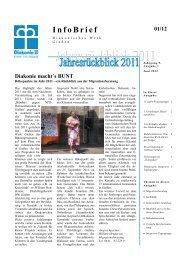 InfoBrief - Diakonisches Werk Gießen