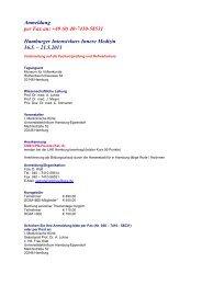 Anmeldung per Fax an: +49 (0) 40-7410-58531 Hamburger ...