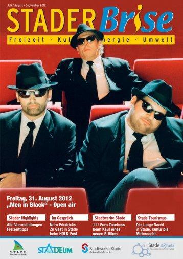 "Freitag, 31. August 2012 ""Men in Black"" - Open air - Stadtwerke ..."