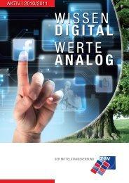WISSEN digital WERTE analog - Zgv