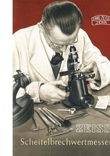 zeiss - scheitelbrechwertmesser