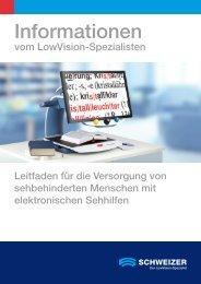 Informationen - Schweizer Optik