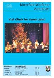 Amtsblatt 01-13 erschienen am 04.01.2013.pdf - Stadt Bitterfeld ...