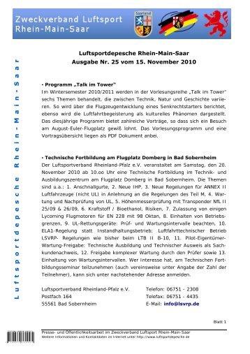 Sport-Audit Luftsport - Hessischer Luftsportbund eV
