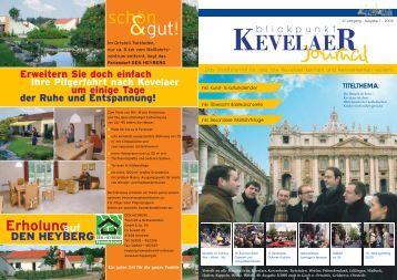 JOURNAL 1 raus - Blickpunkt Kevelaer (Journal)