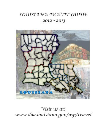 Louisiana Travel Guide 2012-2013 - Division of Administration ...