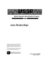 Auto Dealerships - Small Business Notes