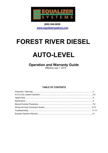forest river diesel auto level equalizer systems?quality=85 concert series owner's equalizer systems wiring diagram at soozxer.org