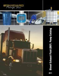 Diesel Exhaust Fluid (DEF) Pump Catalog