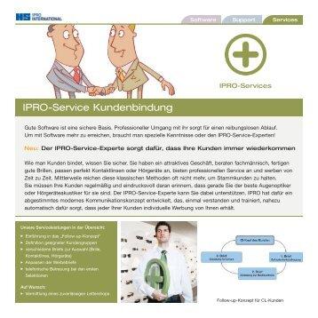 Flyer Service-Kundenbindung:Flyer Inventur-Service ... - Ipro GmbH