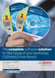 ESI[tronic] - Bosch Automotive Aftermarket