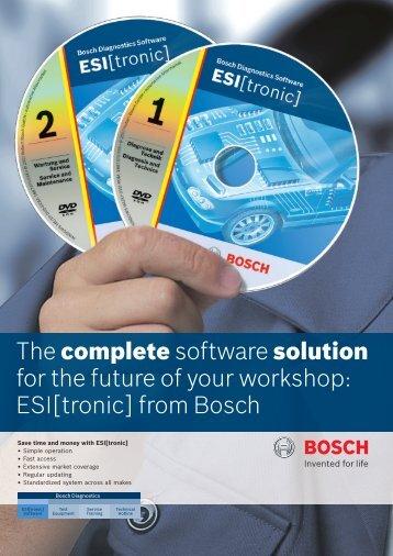 ESI[tronic] - Bosch Automotive Aftermarket