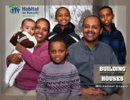 Annual Report 2011 - Habitat for Humanity Susquehanna