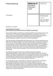 20100616 Kommunalschulden - Diakonie im Kirchenkreis Kleve