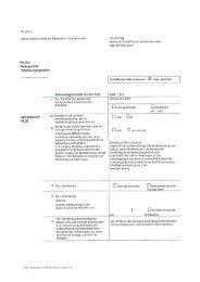 Betreuungsbericht an das Amtsgericht - Diakonie im Kirchenkreis ...