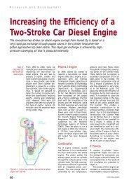 Increasing the Efficiency of a Two-Stroke Car Diesel ... - Aumet Oy
