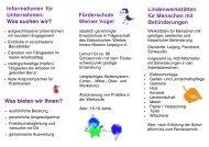 Förderschule Werner Vogel Lindenwerkstätten ... - Diakonie Leipzig