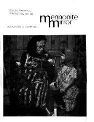 enoonite - Canadian Conference of Mennonite Brethren Churches