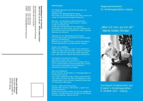 Fachtagung Kitas 2011 - Diakonie Leipzig