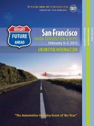 Exhibitor Prospectus - National Automobile Dealers Association