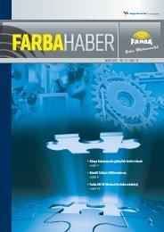 2012 Mayıs - Farba