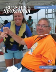 April-June 2012 - Paralyzed Veterans Association of Florida