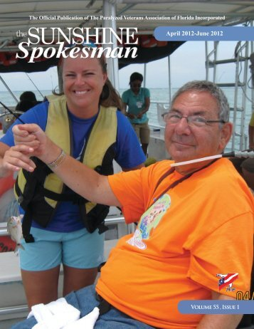 April-June 2012 - Paralyzed Veterans Association of Florida