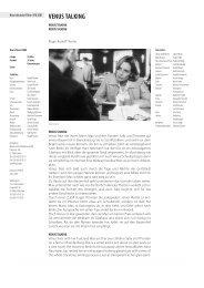VENUS TALKING - Berlinale
