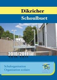 Règlement pour 2010/2011 - Diekirch