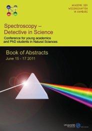 Spectroscopy - Akademie der Wissenschaften in Hamburg