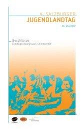 Anträge zusammengefasst als Download - Akzente Salzburg