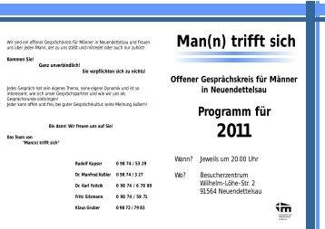 Zum Jahresprogramm 2011 - Diakonie Neuendettelsau