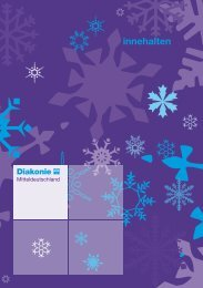 Ansichtsexemplar Weihnachtsheft [1MB] - Diakonie Mitteldeutschland