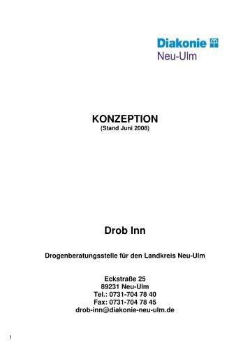 KONZEPTION Drob Inn  - Diakonische Werk Neu-Ulm eV