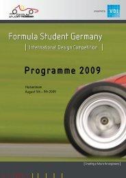 mahle's international trainee program. - Formula Student Germany