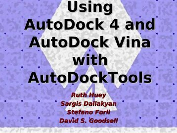 AutoDock Tutorial