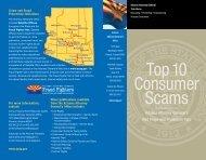 Top 10 Consumer Scams - Arizona Attorney General
