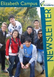 Issue Three August 2010 - Tasmanian Academy