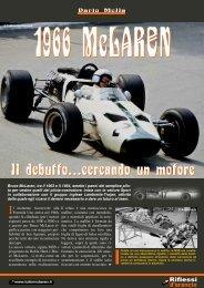 1966 - Il debutto, cercando un motore - Tutto McLaren