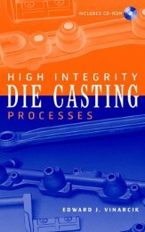 1 Introduction to High Integrity Die Casting Processes - Index of