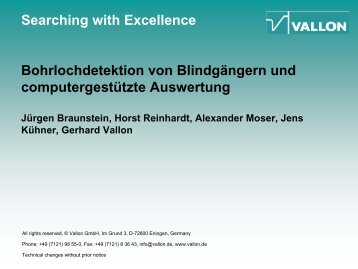 Searching with Excellence For more than four decades New Data ...