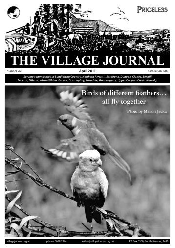 April - Village Journal